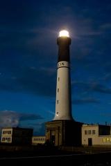 Phare de l'île de Sein -  Photo prise à 00h15