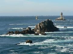 Phare de l'île de Sein -  La pointe du Raz, dans le Finistère (Bretagne), France