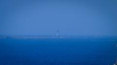 Phare de l'île de Sein - Deutsch: Grand phare de l'Île de Sein und Ar-Men (rechts).