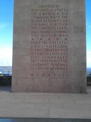 Naval Monument ou Mémorial américain de la Première Guerre mondiale -  Downtown, 29200 Brest, France