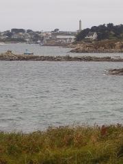 Phare de l'île de Batz -  Île de Batz, near Roscoff, Bretagne; Frankreich;