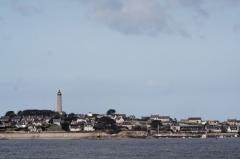 Phare de l'île de Batz - English: Ile de Batz (Finistère, France) viewed from Roscoff