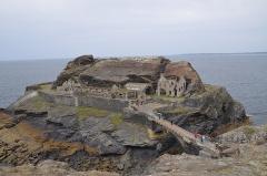 Ilot des Capucins - Deutsch: Das Fort des Capucins auf der Îlot des Capucins in der Gemeinde Roscanvel