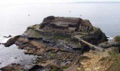 Ilot des Capucins -  Fort de l'îlot des Capucins (Roscanvel)