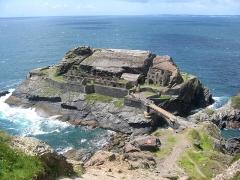 Ilot des Capucins - English: Pointe des Capucins (Cape of Capuchin), Roscanvel