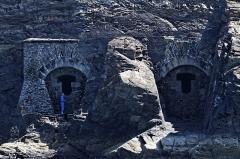 Ilot des Capucins -  Le fort des Capucins vu depuis la mer