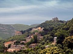 Baptistère paléochrétien de Saint-Jean - Rogliano (Corse) - Vignale et les ruines du Castellacciu San Colombano des seigneurs Da Mare