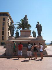 Monument commémoratif Napoléon et ses frères -  Ajaccio, France
