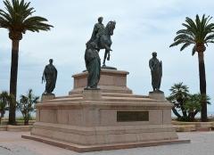 Monument commémoratif Napoléon et ses frères - Deutsch: Napoleon-Denkmal in Ajaccio