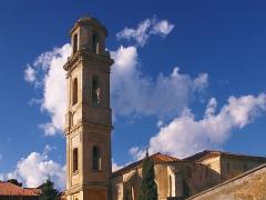 Statue du général Abbatucci - Corbara - Campanile du couvent Saint-Dominique