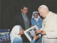 Eglise ou oratoire Saint-Roch - Español: Visita a su Santitad Juan Pablo II