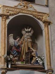 Eglise paroissiale Notre-Dame-de-l'Annonciation (Santa-Maria-Assunta) - Français:   Eglise de Muro (Haute-Corse), Annonciation.