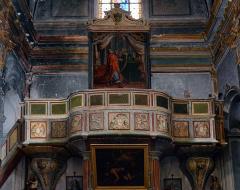 Eglise paroissiale Notre-Dame-de-l'Annonciation (Santa-Maria-Assunta) -  Muro, Balagne (Corse) -Orgue de tribune de l'église Santissima Annunziata