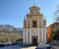 Eglise paroissiale Notre-Dame-de-l'Annonciation (Santa-Maria-Assunta) -  Muro, Balagne (Corse - Église de la Santissima Annunziata, de style baroque (XVIIe siècle).