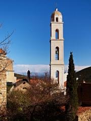 Eglise paroissiale Notre-Dame-de-l'Annonciation (Santa-Maria-Assunta) -  Palasca, Balagne (Haute-Corse) - Église  de l'Assomption (Santa Maria Assunta).