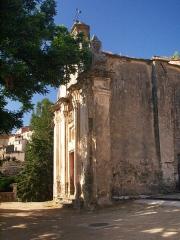 Chapelle Sainte-Croix - Français:   Poggio-d\'Oletta, Nebbio (Corse) - L\'ancienne chapelle de confrérie Sainte-Croix (Santa Croce)