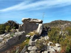 Site archéologique dit du Monte Revincu -  Santo-Pietro-di-Tenda, Nebbio (Corse) - Dolmen du Mont-Rivinco