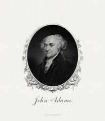 Ensemble constitué de la rampe Saint-Charles, de l'escalier et du jardin Romieu - English: Engraved BEP portrait of U.S. President  John Adams