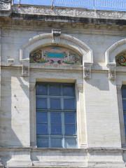 Ancien hospice devenu palais des arts, puis agrandi en lycée, actuel lycée Alphonse Daudet -  Geburtshaus-Gymnasium Lycee Alphonse Daudet