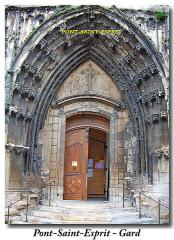 Eglise paroissiale Saint-Saturnin - Dansk: portail