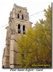 Eglise paroissiale Saint-Saturnin - Dansk: clocher