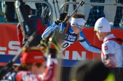 Château de Sales (également sur commune de Lalande-de-Pomerol) - Deutsch: Offene Biathlon-Europameisterschaften 2017, Sprintrennen der Männer am 27. Januar.