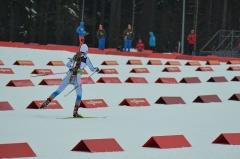 Château de Lislefort - Deutsch: Offene Biathlon-Europameisterschaften 2017, Einzelrennen der Frauen am 25. Januar.