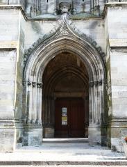 Eglise Saint-Jean - Français:   Portail de l\'église Saint-Jean, Libourne, Gironde, France