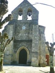 Eglise paroissiale Saint-Pierre -  Eglise de Naujan
