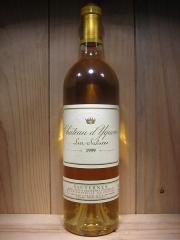 Château d'Yquem - English: Bottle of Château d'Yquem 1999