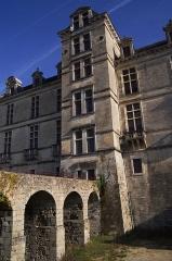 Château Chavat - Château du Duc d'Epernon - Façade Arrière