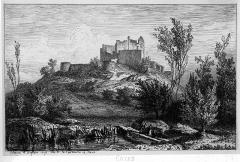 Château de Caze - English: Castle of caze in Saint-Sulpice-de-Guilleragues (Gironde, France)
