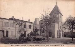 Monument aux Morts de la guerre 14-18 - French photographer