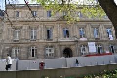 Faculté de médecine et de pharmacie -  Bâtiment de l'ancienne faculté de droit de Bordeaux