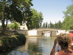 Canal du Midi (écluse ronde) - English: Entrance of the