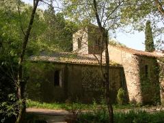 Chapelle Notre-Dame de Nize - Français:   Lunas (Hérault) - église Notre-Dame de Nize.