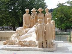 Monument aux morts - restauration récente