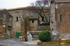 Château ou Castellas - English: Castle of Castelnau-de-Guers, Hérault, France.