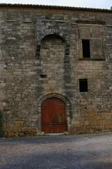 Château ou Castellas - English: Castle of Castelnau-de-Guers, Hérault, France