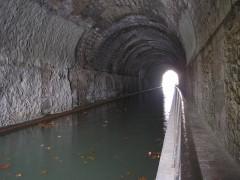 Tunnel-aqueduc de drainage de l'étang de Colombiers et Montady -  Malpas tunnel
