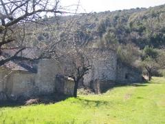 Ancienne usine de chaux - Français:   La Tour-sur-Orb - les fours et la bluterie