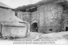 Ancienne usine de chaux - Français:   La Tour-sur-Orb - détail des fours en 1920