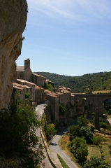Citadelle - English: View in village of Minerve, dept. Hérault, France