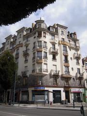 Malouinière de la Rivière, à Paramé - Immeuble Odorico, avenue Janvier à Rennes, labellisé patrimoine du XXè siècle