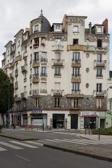 Malouinière de la Rivière, à Paramé - Immeuble situé 7 avenue Janvier à Rennes lors des journées européennes du patrimoine le 19 septembre 2015.