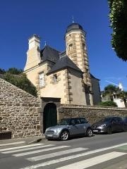 Malouinière de la Verderie, à Saint-Servan - Français:   Photographie de la Verderie, vue de la rue, à Saint-Servan