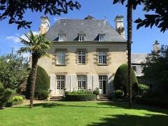 Malouinière de la Verderie, à Saint-Servan - Français:   Photographie de la Verderie, vue du jardin, à Saint-Servan