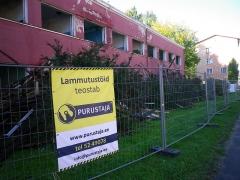 Malouinière de la Ville Azé - Eesti: Maarja kiriku juurdeehitise lammutamine Tartus