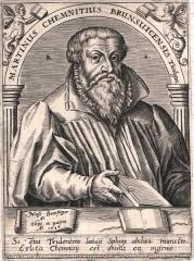 Manoir du Grand Trémaudan - Deutsch: Martin Chemnitz (* 9. November 1522 in Treuenbrietzen; † 8. April 1586 in Braunschweig) war ein lutherischer Theologe und Reformator.