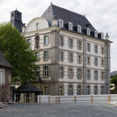 Ancien Jeu de Paume - Français:  Pavillon est de l'ancien séminaire, devenu hôpital militaire, à Rennes (France)